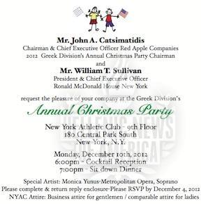 RMH Invitation xmas