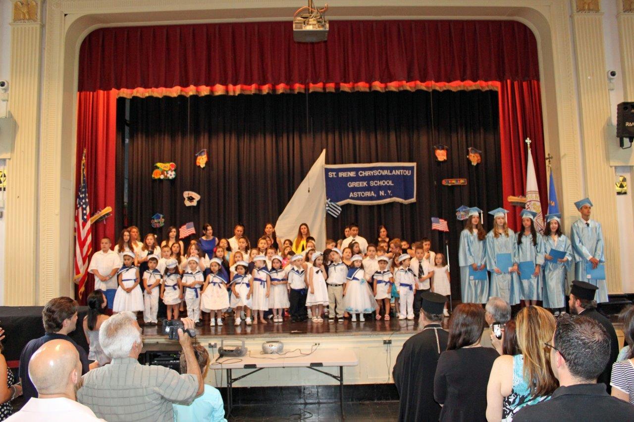 tsounis St. Irene Chrysovalantou Held Graduation b