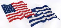 american greek flag