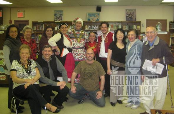 Greek Folklore Society Performance at East Flushing Library Exceptional