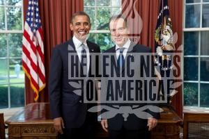 Obama Receives New Greek Ambassador Panagopoulos