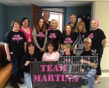 Team Martina: Finding a Cure for Cancer