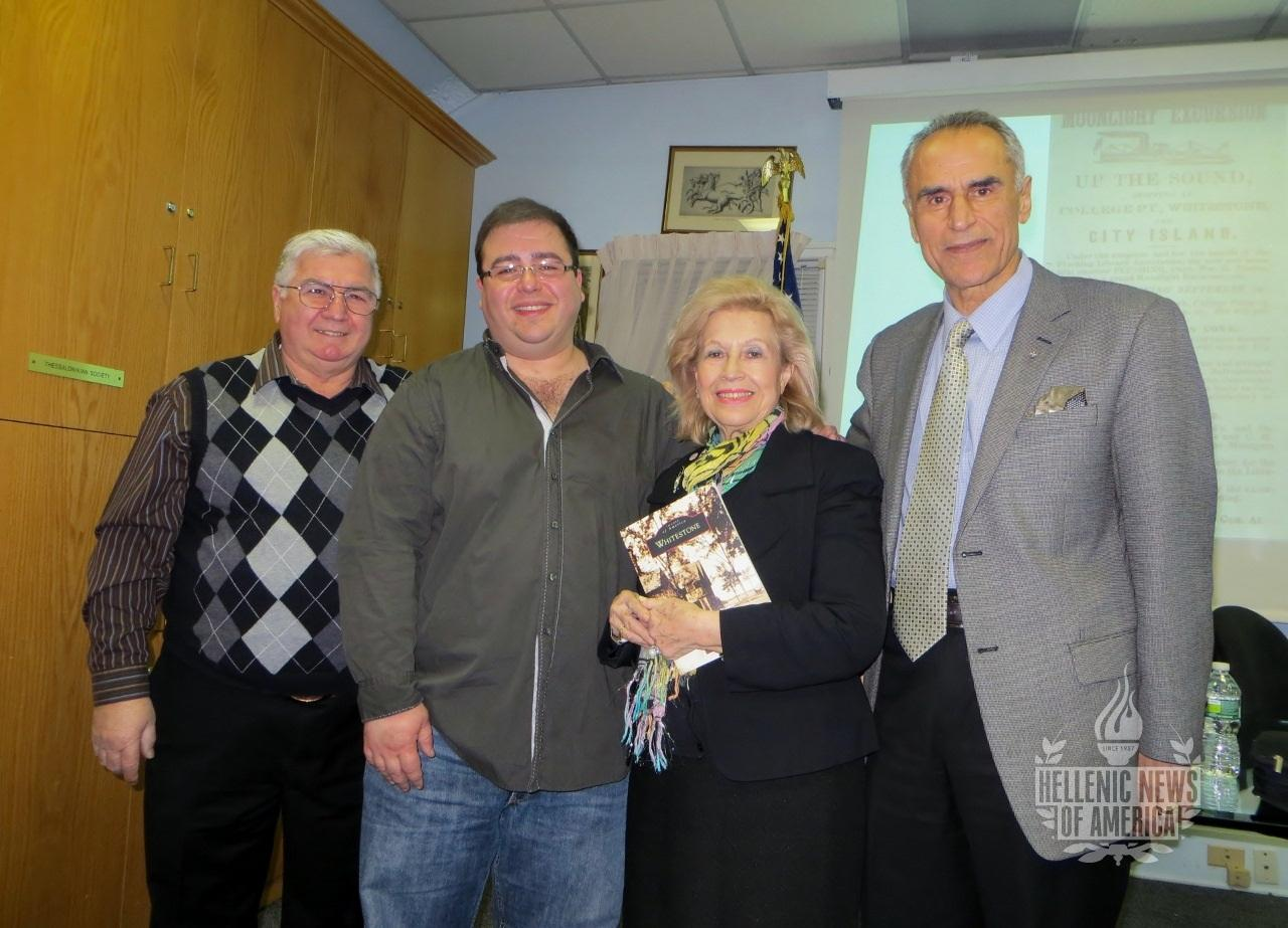 Jason D. Antos Presents Whitestone Lecture at Pan Macedonian Studies Center
