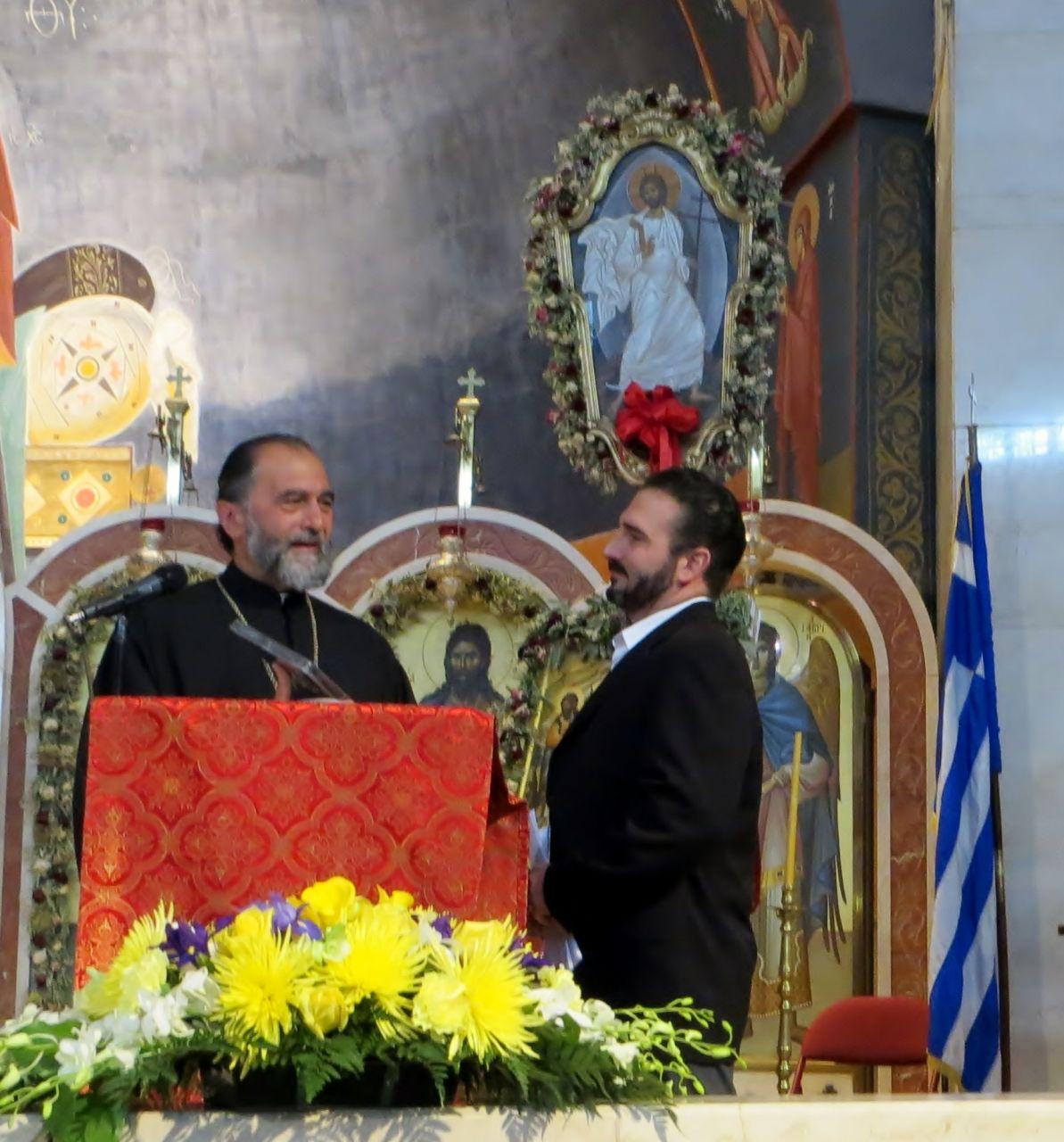 2013 Keynote Speaker St. Nicholas of Flushing Greek Afternoon School: Kostas Koutsoubis, PT