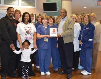 DCMH and Crozer NICUs Honored by March of Dimes