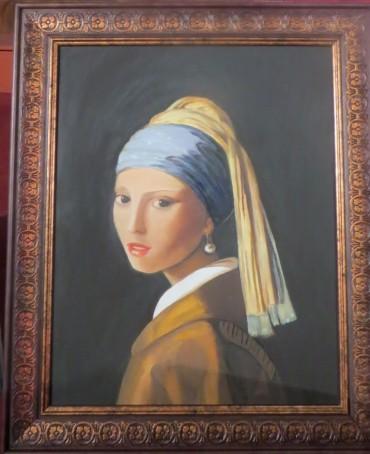 Pogoni Is Stimulus of Artist's Paintings