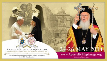 The Meeting of Ecumenical Patriarch Bartholomew and Pope Francis in the Holy City of Jerusalem, May 24-26