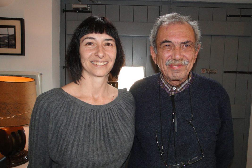 Georgia Tsara & Selene owner Yiorgos Hatziyannakis
