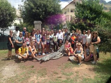 """Μαθητές του σχολείου charter """"Ακαδημία Σωκράτης"""" για δεύτερη χρονιά σε εκπαιδευτική εκδρομή στην Ελλάδα με την υποστήριξη του Ιδρύματος «Τεντ και Έρικα Σπυρόπουλου»"""