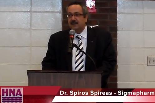 Dr. Spiro Spireas Hosts Luncheon for Fr. Pavlow of St. George Greek Orthodox Church in Hamilton, NJ