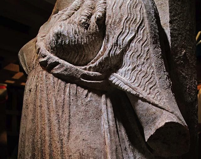 The Broken Arm of the Caryatid
