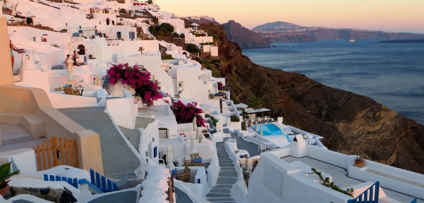 Greek islands dominate the list of the best honeymoon destinations in Europe