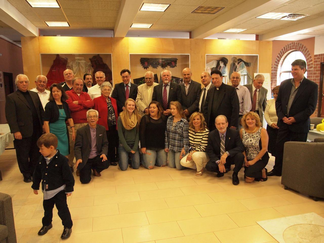 HANC's President visits Paideia Organization at UCONN