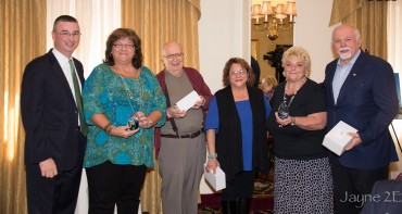 The Press Club Honors Paul Kotrotsios and the Outgoing Board Members