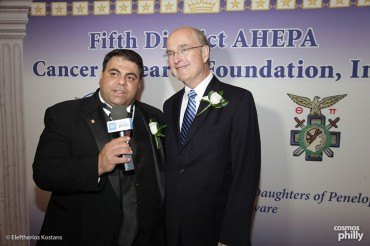 Chairman George G Horiates remarks at the 25 year silver anniversary AHEPA Fifth District Cancer research Gala.
