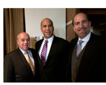 Cory Booker Comes to the Home of Zenon Christodoulou