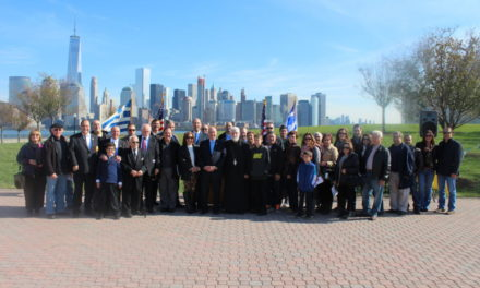 AHEPA Commemorates the 75th Anniversary of OXI DAY at Liberty State Park, NJ [ Full Video – Interviews – Photos ]