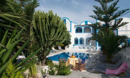 PENSION GEORGE: AN IDEAL FAMILY RETREAT ON SANTORINI   By Aurelia Smeltz