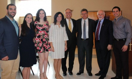 Dr. Konstadinos Plestis Visits St. Athony's Greek Orthodox Church in Vineland, NJ, to Present on Health Health