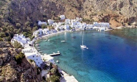 SFAKIA:  WHERE THE MOUNTAINS MEET THE SEA