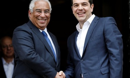 The Greek and the Portuguese Prime Minister sign joint declaration