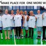 Οι Γυναίκες του Μπάσκετ συμμετέχουν στο «ΜakePlaceforonemoreWoman» για περισσότερες γυναίκες στον αθλητισμό!!!
