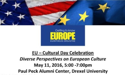 Publisher of the Hellenic News of America, Paul Kotrotsios, Will Speak at EU-Cultural Day Celebration at Drexel University