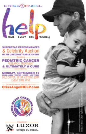 Criss Angel HELP! Charity Event