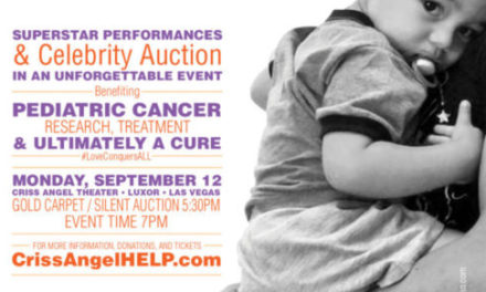 Join Greek-American Magician Criss Angel in the Fight Against Pediatric Cancer