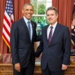New Ambassador of Greece to the United States Haris Lalacos presented his credentials to President Barack Obama