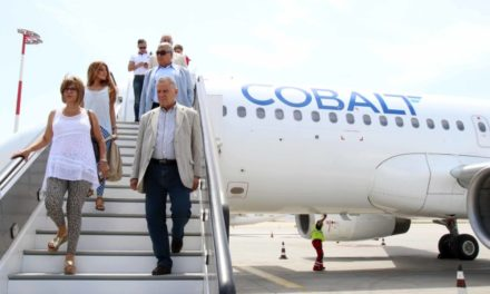 COBALT – Στους αιθέρες από σήμερα η νέα αεροπορική της Κύπρου.