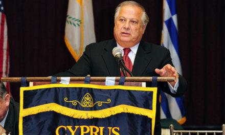 CYPRUS STILL OCCUPIED: - PHILIP CHRISTOPHER PRESIDENT, PSEKA