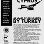 Message by Philip Christopher, President of PSEKA.  Cyprus:  42 Years of Occupation BY TURKEY