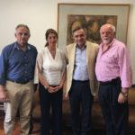 Υποδοχή στην Πρυτανεία του Ιδρυτή και Εκδότη της εφημερίδας «Hellenic News of America» και πρώην Προέδρου του Ελληνοαμερικανικού Εθνικού Συμβουλίου