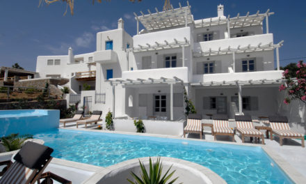 The Extraordinary Sister Hotels of Mykonos      By Aurelia Smeltz, Special to the Hellenic News of America