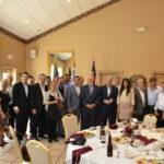 Η Hellenic News Of America και Έλληνες Ομογενείς τίμησαν  Τον Πρόεδρο της Ένωσης Κεντρώων Βασίλη Λεβέντη στη Φιλαδέλφεια