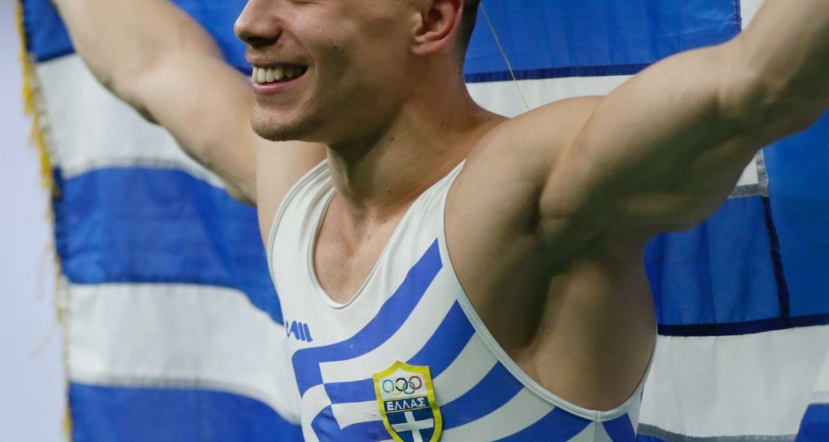 Eleftherios Petrounias wins gold: Greece's 'Lord of the ...