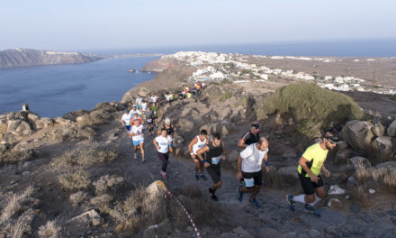 October, the month of swimming, of running, of Santorini!
