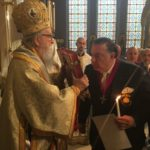 John Koudounis, CEO of Chicago-based Calamos Investments, has been inducted as an Archon in the Order of St. Matthew, the highest honor bestowed on a layman of the Greek Orthodox Church