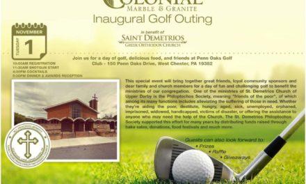 Colonial Marble Inaugural Golf Outing Benefiting Saint Demetrios GOC