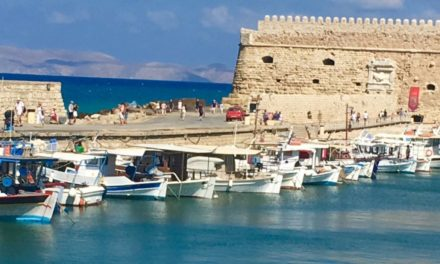 A new experience in Crete…… and giving back