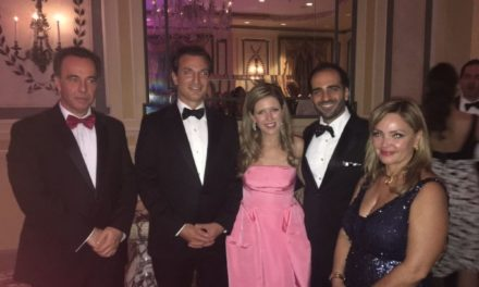 HELLENIC AMERICAN CHAMBER OF COMMERCE HONORS NITZIA LOGOTHETIS AS PERSON OF THE YEAR