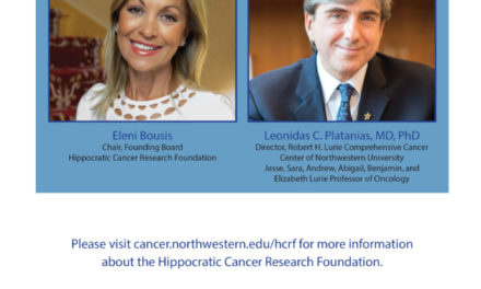 A call from Eleni Bousis,  Chair of the Founding Board  Hippocratic Cancer Research Foundation