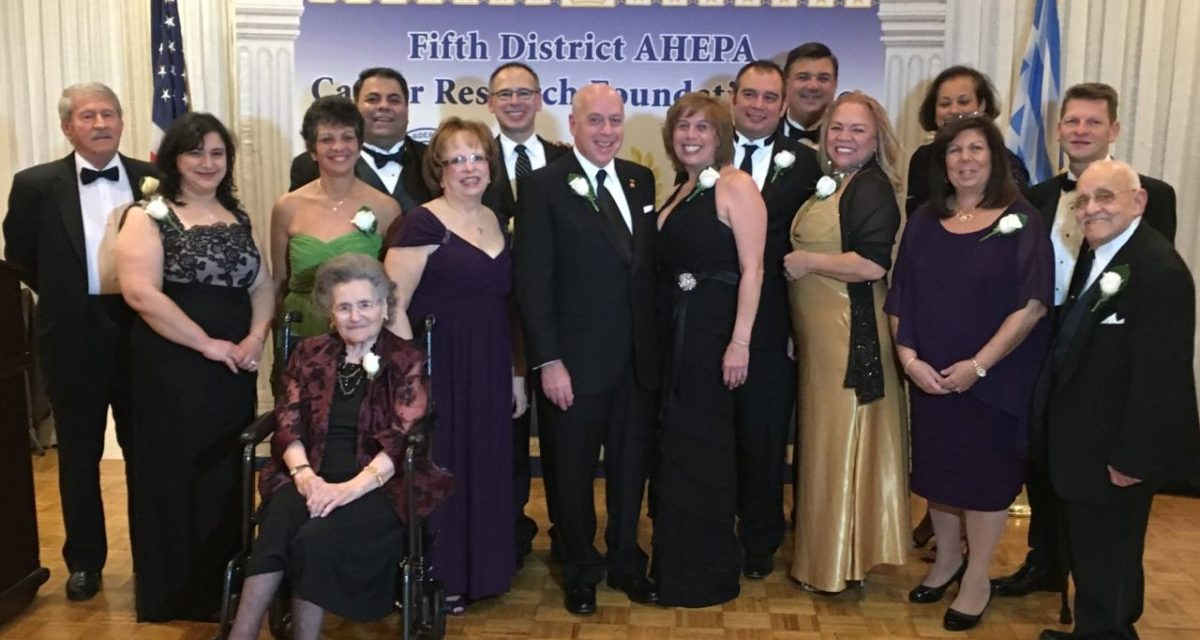 Fifth District AHEPA Cancer Research Foundation Marched to a Million!