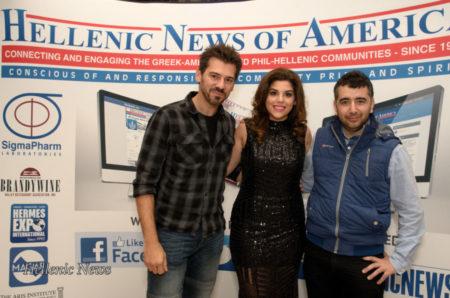 New Greek TV Crew with Aphrodite