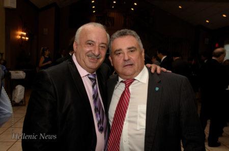 John Korologos and Basil Mataragas