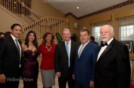 Dimitri Panagiotopoulos, Stavroula Kotrotsios, Mrs. Whelan, Jack Whelan, DA of Delaware County, Chris Nikolos and Paul Kotrotsios