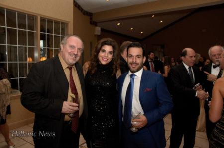 Dr. Dendrinos, Aphrodite Kotrotsios and Dr. Gregori Foussas