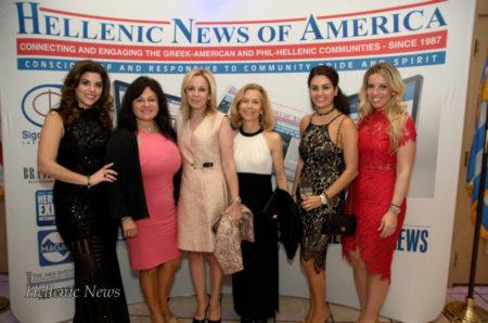 Aphrodite Kotrotsios, Eugenia Pashalis, Demi Kollias, Giovanna, Anastasia Pashalis, and Alexia Tsikouras