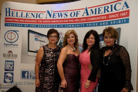 L-R: Lori Panagiotopoulos, Linda Kotrotsios, Eugenia Pashalis and Eleni Poulos